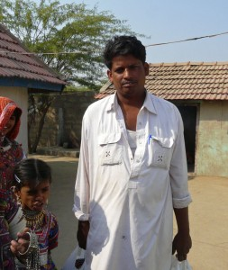 Artisan Ramu Devraj Harijan in his village of Kutch, India.