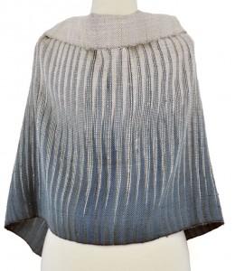 Similar weft ikat used in shawl.