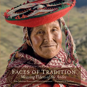Weaving Elders of the Andes featured in this new title from Thrums Books