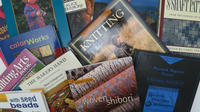 Craft Book Sale Collage