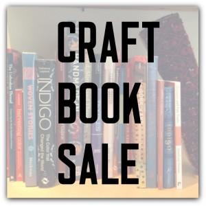 Craft Book Sale