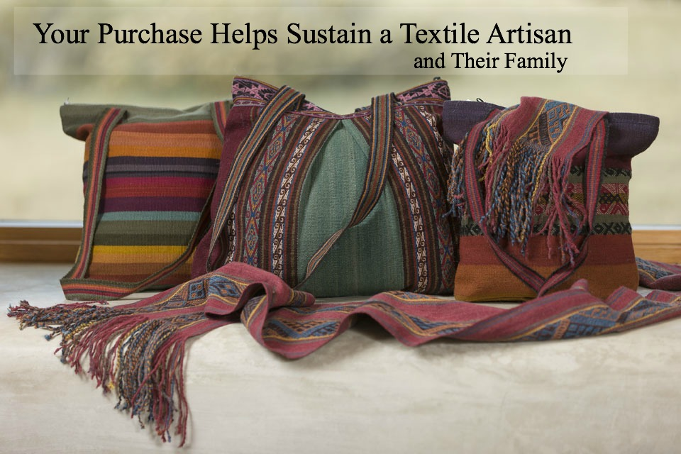 Your Purchase Helps Sustain A Textile Artisan and Their Family