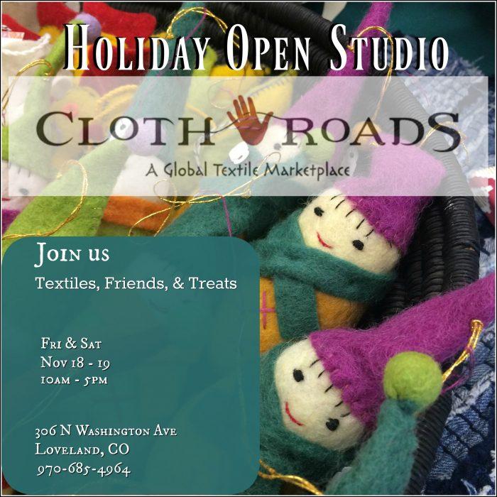 Holiday Open Studio 2016
