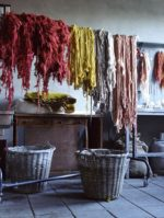 Hand-dyes: the subtle tones of naturally dyed yarns and fabrics are part of the fashion world's response to too much high tech.