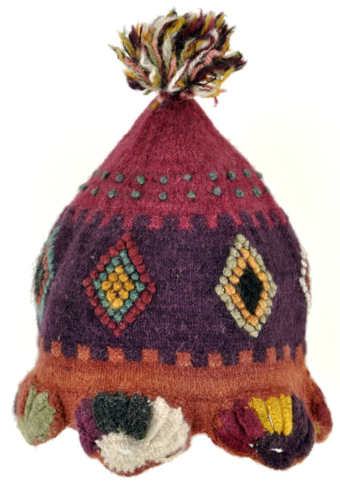 Handknitted Peruvian Hat for Kids