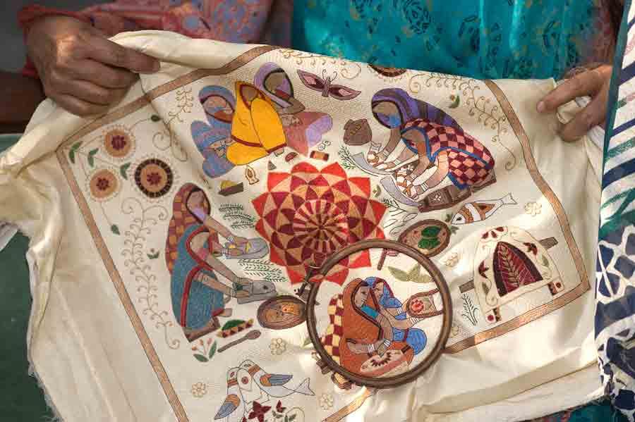 Kantha Ancient Hand Stitch Revival Clothroads